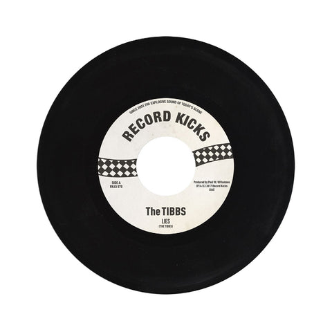 "[""The Tibbs - 'Lies' [(Black) 7\"" Vinyl Single]""]"
