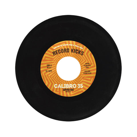 "[""Calibro 35 - 'SuperStudio/ Gomma' [(Black) 7\"" Vinyl Single]""]"