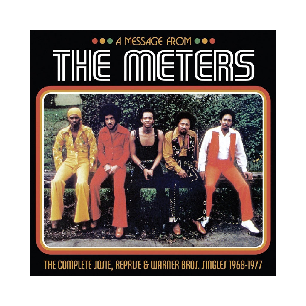 The Meters - 'Message From The Meters: Complete Josie Reprise' [(Black) Vinyl [3LP]]