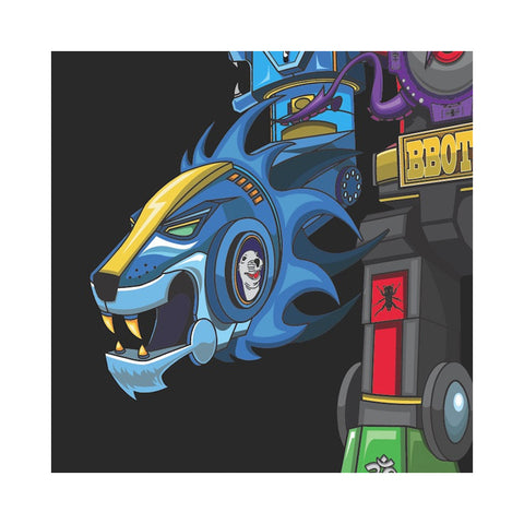 "[""Skratchy Seal - 'Super Seal Giant Robo V Vol. 2 (Right Arm)' [(Aqua Blue Marble) 10\"" Vinyl Single]""]"