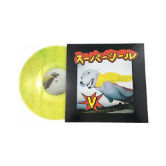 "Skratchy Seal - 'Super Seal Giant Robo V Vol. 3 (Left Arm)' [(Highlighter Yellow w/ Blue Hint) 10"" Vinyl Single]"