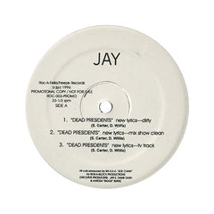 "<!--019960101012093-->Jay-Z - 'Dead Presidents/ Ain't No Nigg@ (Ain't No Nigga)' [(Black) 12"" Vinyl Single]"