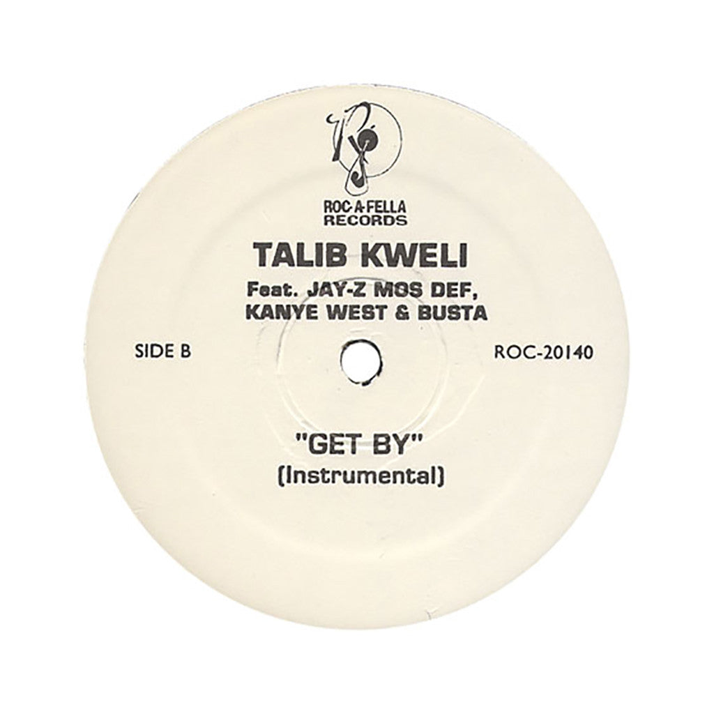 "Talib Kweli - 'Get By (Remix)' [(Black) 12"" Vinyl Single]"