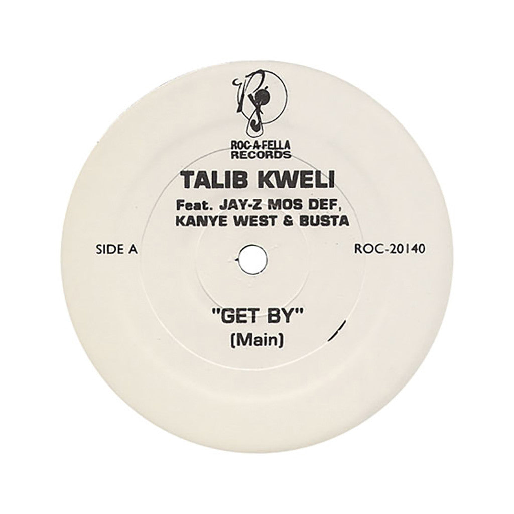 "<!--020040824011527-->Talib Kweli - 'Get By (Remix)' [(Black) 12"""" Vinyl Single]"