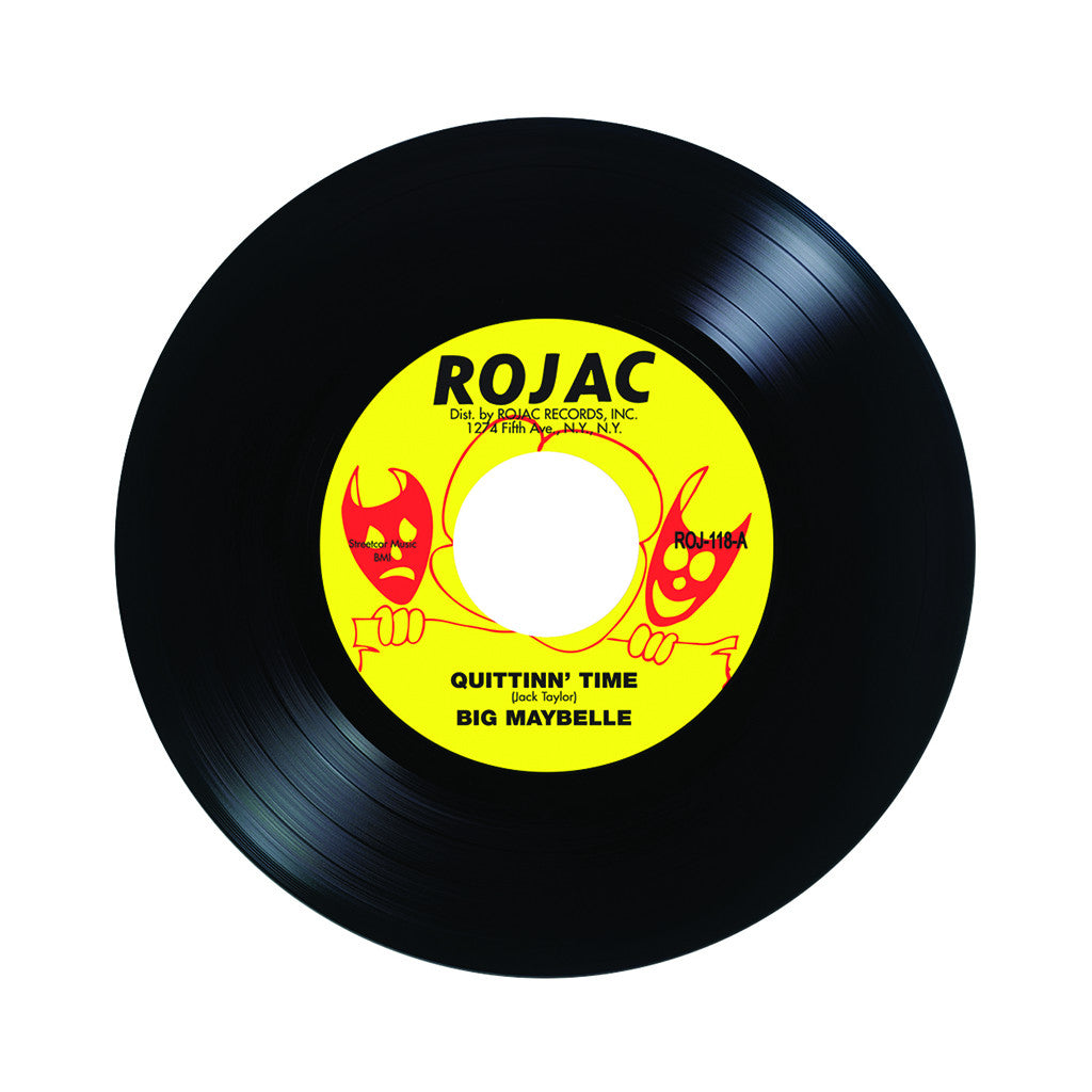 "Big Maybelle - 'Quittin' Time/ I Can't Wait Any Longer' [(Black) 7"" Vinyl Single]"