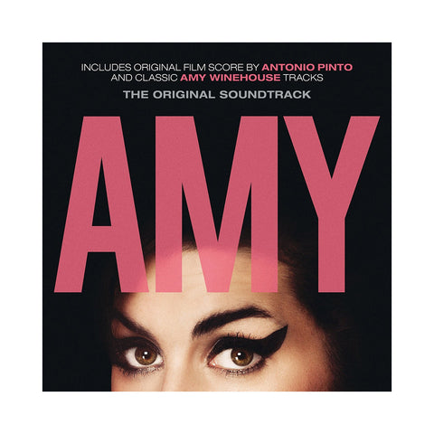 "[""Amy Winehouse & Antonio Pinto - 'Amy (The Original Soundtrack)' [(Black) Vinyl [2LP]]""]"