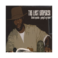 "Last Emperor - 'Black Apache/ Black Apache (Remix)/ Gangsta Groove/ Gangsta Groove (Remix)' [(Black) 12"" Vinyl Single]"