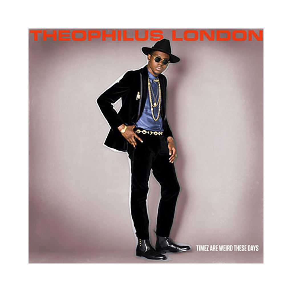 <!--120110719033183-->Theophilus London - 'Timez Are Weird These Days' [CD]