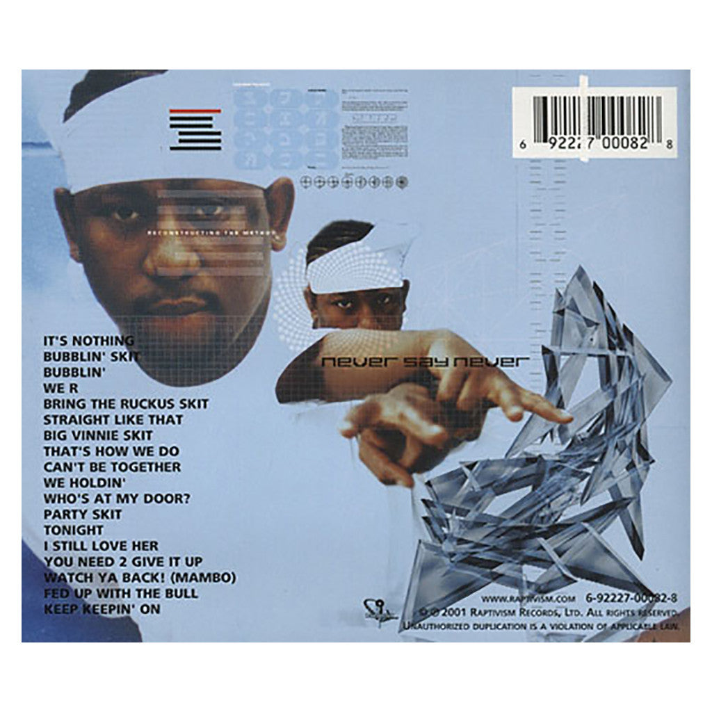 <!--020011120001261-->Shabaam Sahdeeq - 'Never Say Never' [CD]