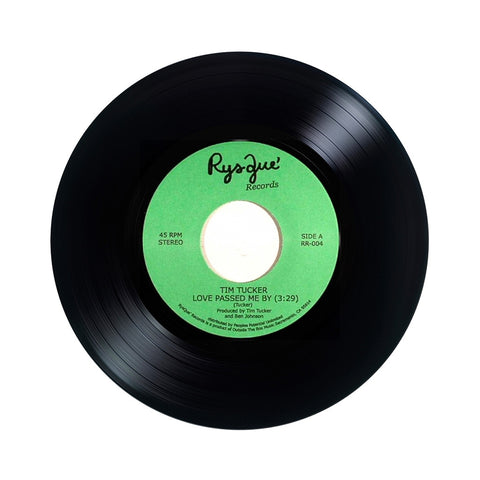 "[""Tim Tucker b/w Freddie Fonk - 'Love Passed Me By b/w Captured' [(Black) 7\"" Vinyl Single]""]"