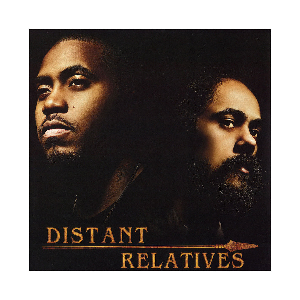 "<!--120100518001965-->Nas & Damian ""Jr. Gong"" Marley - 'Distant Relatives' [(Black) Vinyl [2LP]]"