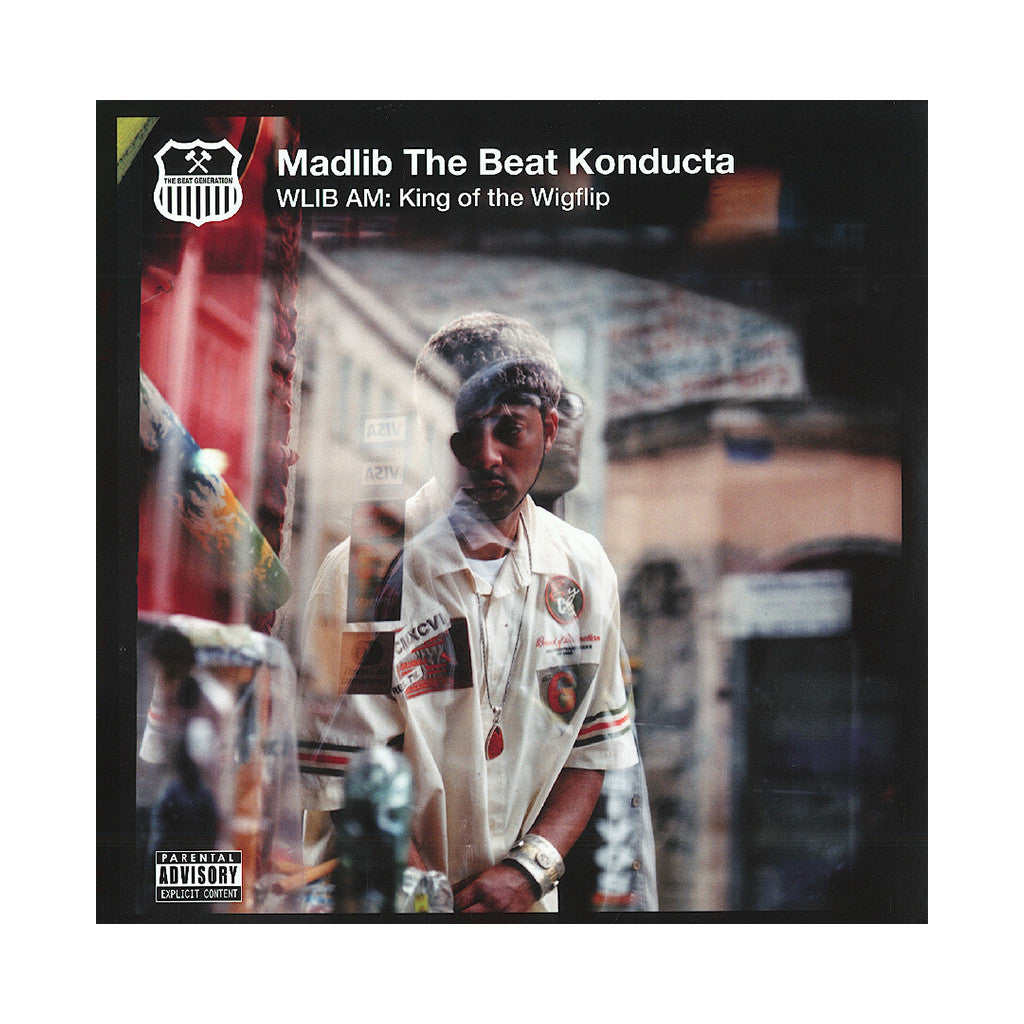 Madlib - 'WLIB AM: King Of The Wigflip' [(Black) Vinyl [2LP]]