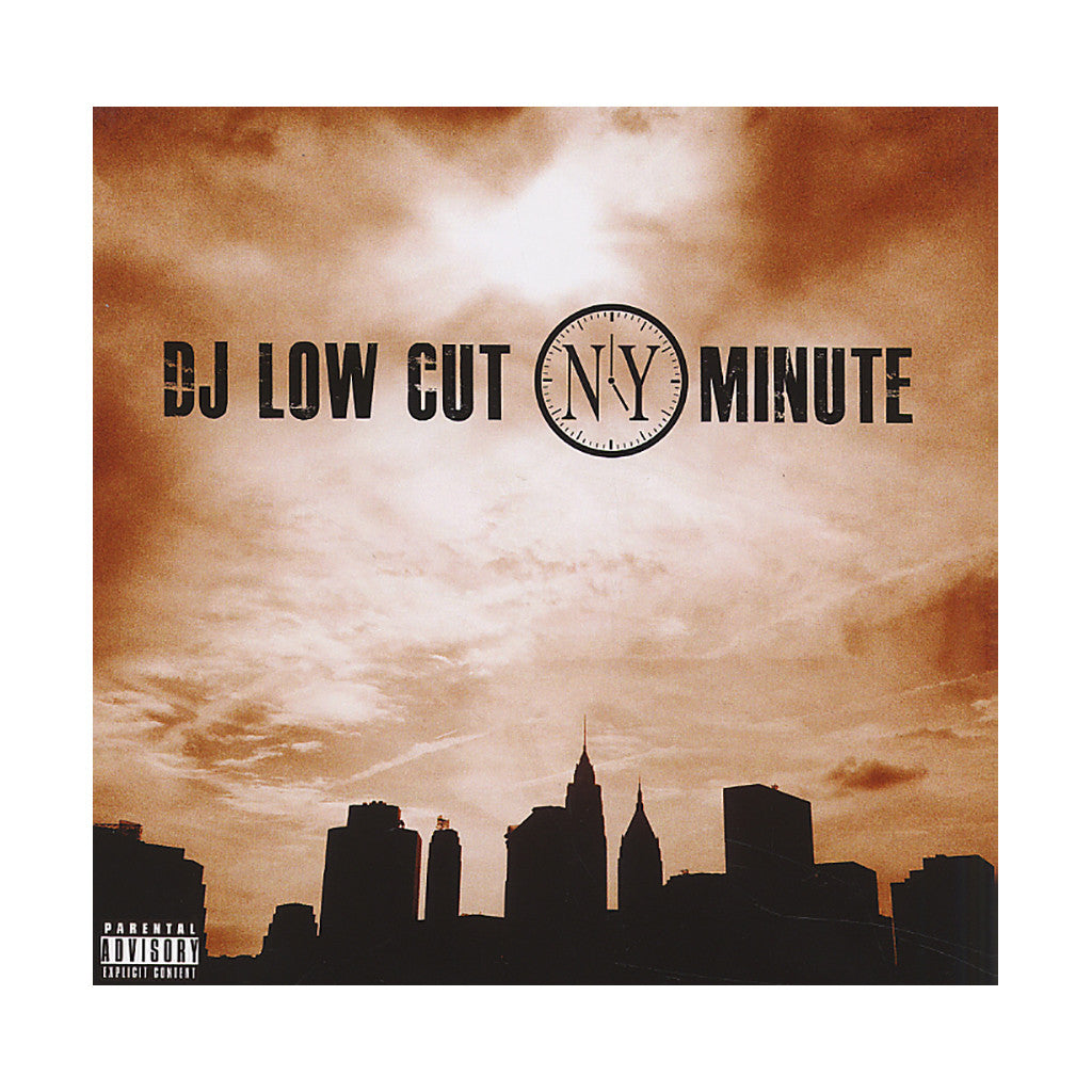 <!--020120320043826-->DJ Low Cut - 'NY Minute' [CD]