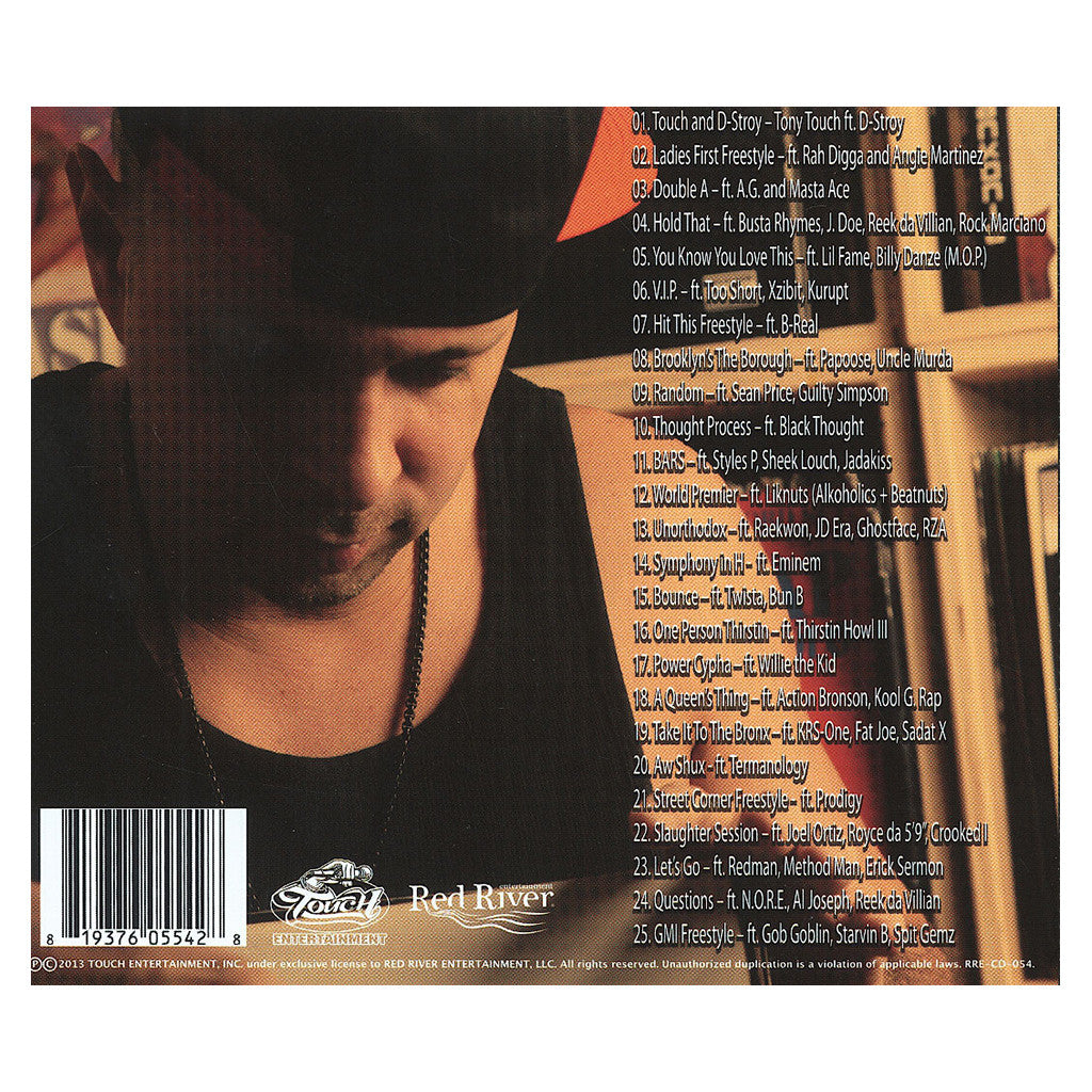 <!--120130709056798-->Tony Touch - 'The Piece Maker Vol. 3: Return Of The 50 MCs' [CD]