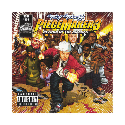 Tony Touch - 'The Piece Maker Vol. 3: Return Of The 50 MCs' [CD]