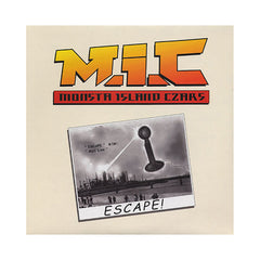 "Monsta Island Czars - 'Escape/ Mic Line' [(Black) 12"" Vinyl Single]"
