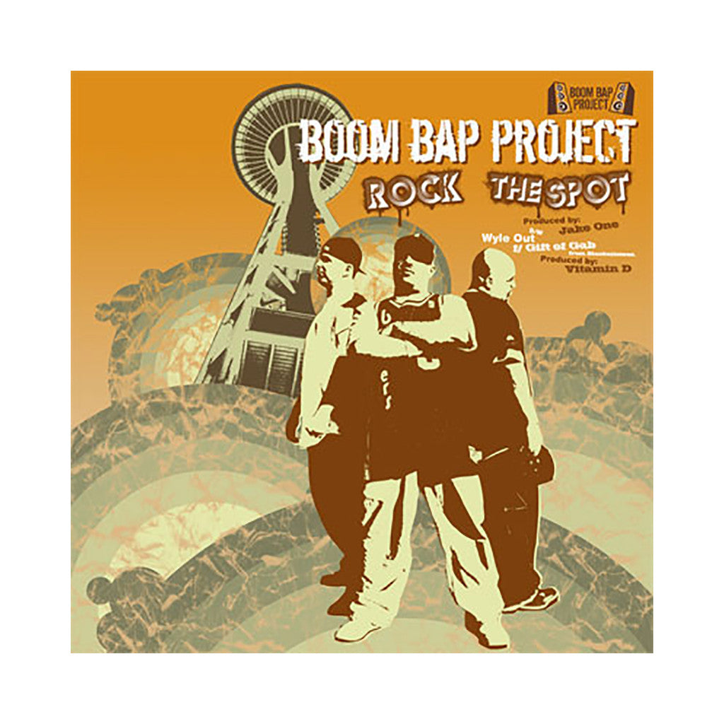 "<!--020050517005168-->Boom Bap Project - 'Rock The Spot/ Wyle Out' [(Black) 12"""" Vinyl Single]"