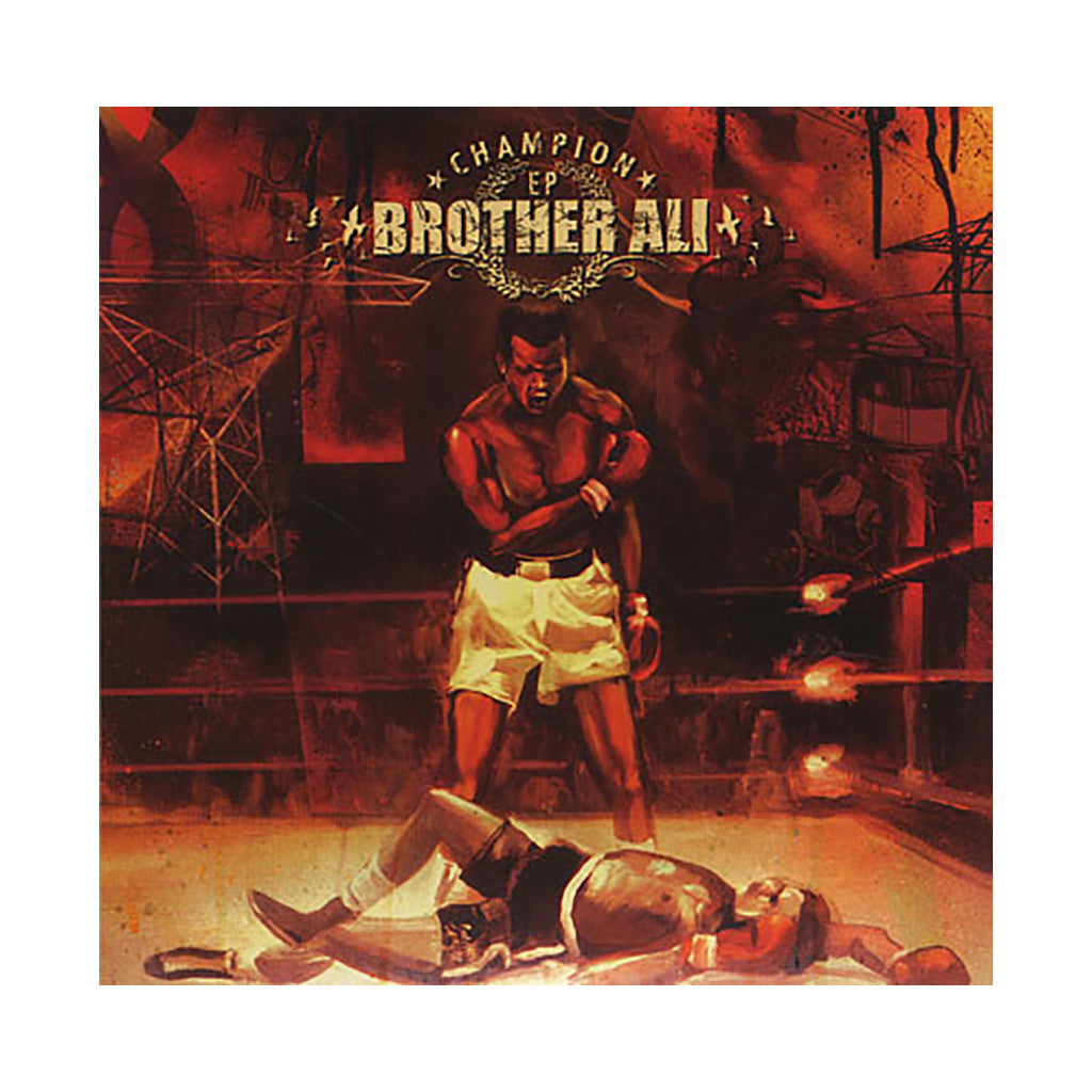 <!--120040511012498-->Brother Ali - 'Champion EP' [CD]