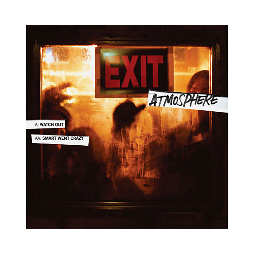 "Atmosphere - 'Watch Out/ Smart Went Crazy' [(Black) 12"" Vinyl Single]"