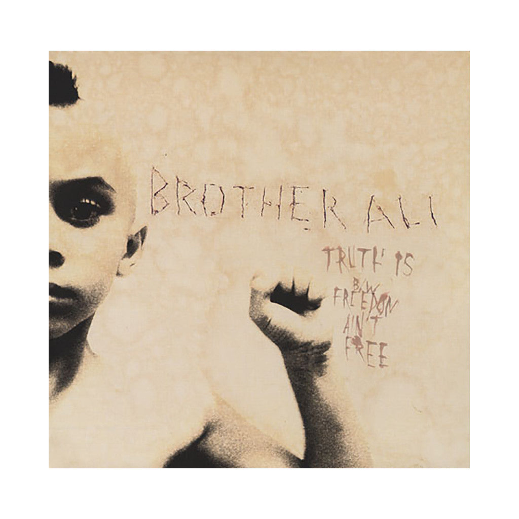 "Brother Ali - 'Truth Is/ Freedom Ain't Free/ Original King' [(Black) 12"" Vinyl Single]"