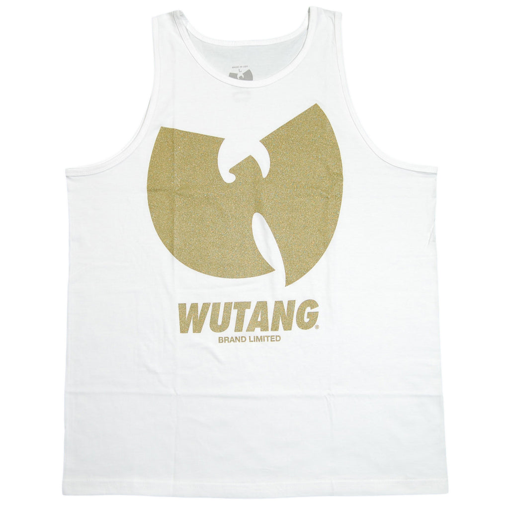 <!--2012073133-->Wu-Tang Brand LTD - 'WBL Gold' [(White) Tank Top]