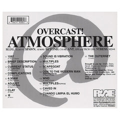 Atmosphere - 'Overcast!' [CD]