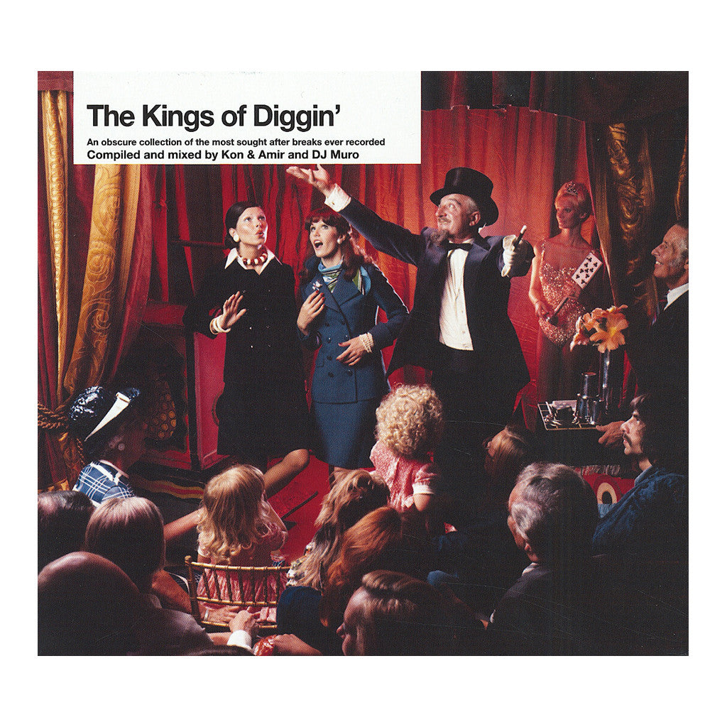 <!--120060711007320-->Various Artists (Compiled & Mixed By: Kon & Amir & DJ Muro) - 'The Kings Of Diggin'' [CD [2CD]]
