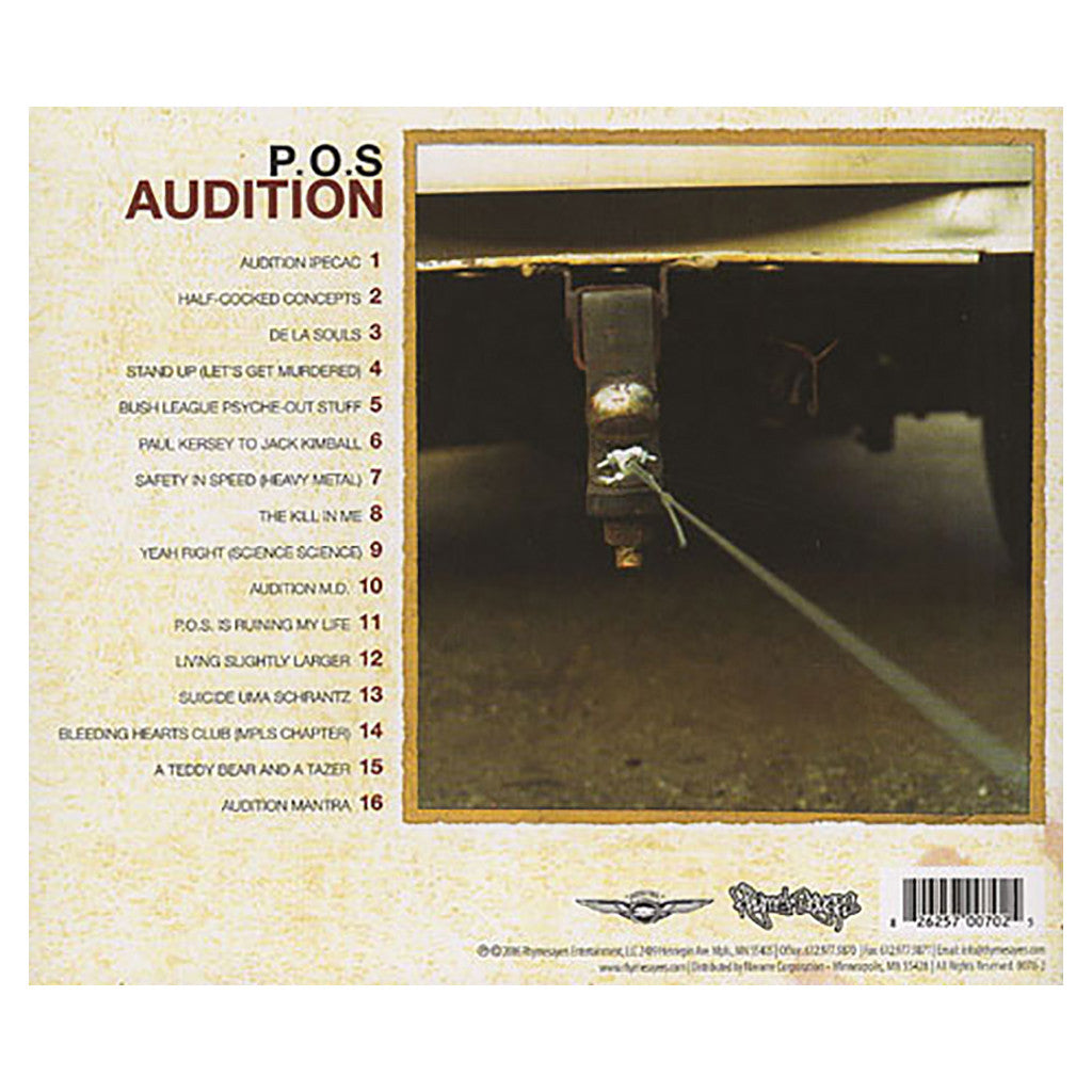 <!--120060131006186-->P.O.S. - 'Audition' [CD]