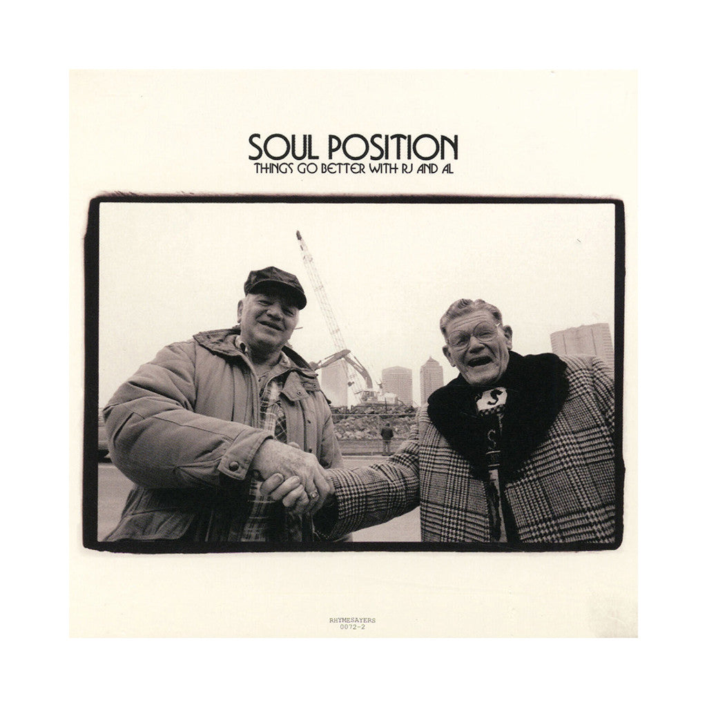 <!--020060404006624-->Soul Position - 'Things Go Better With RJ And Al' [(Black) Vinyl [2LP]]