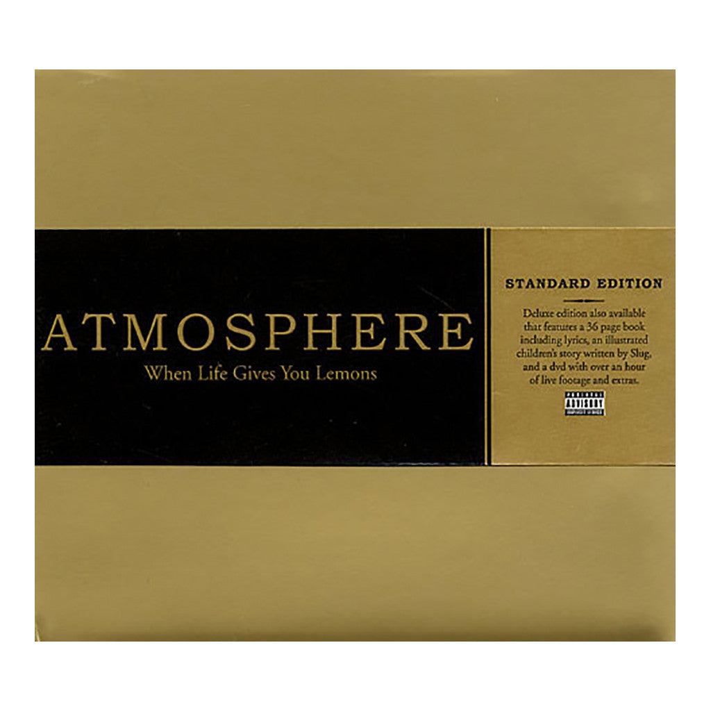 <!--120080422012885-->Atmosphere - 'When Life Gives You Lemons, You Paint That Shit Gold' [CD]