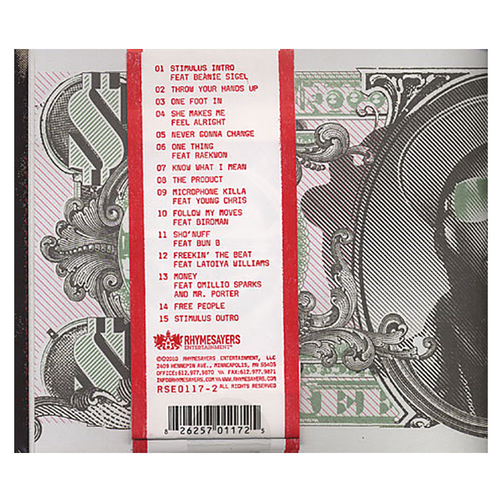 Freeway & Jake One - 'The Stimulus Package' [CD]