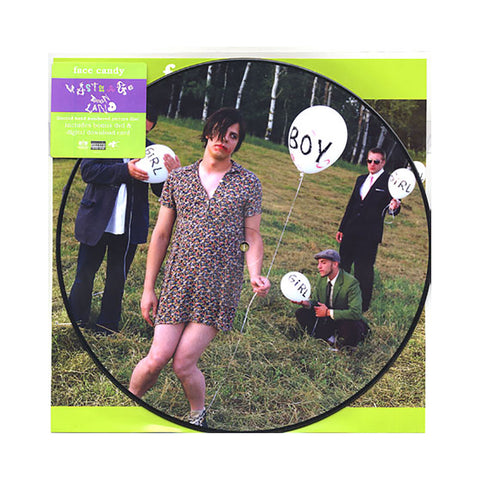 "[""Face Candy - 'Waste Age Teen Land' [(Picture Disc) Vinyl LP]""]"