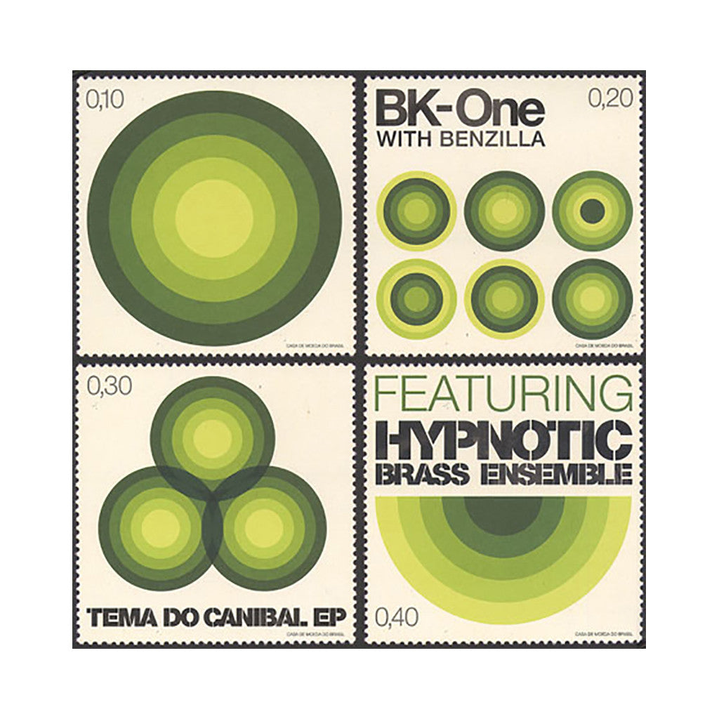 BK-One & Benzilla - 'Tema Do Canibal EP' [(Clear Green) Vinyl EP]