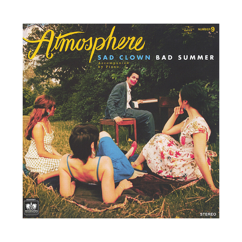<!--020070904010580-->Atmosphere - 'Sad Clown Bad Summer Number 9' [CD]