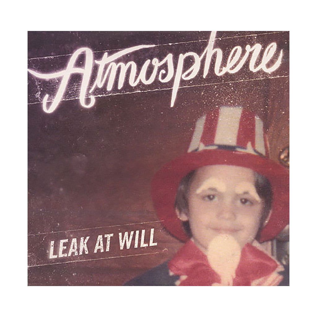 <!--020091117019189-->Atmosphere - 'Leak At Will' [CD]