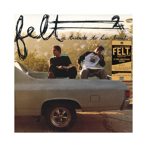 "[""Felt - 'Felt 2: A Tribute To Lisa Bonet (10 Year Anniversary Edition)' [(Color In Color) Vinyl [4LP]]""]"