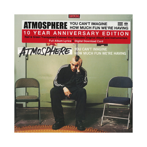 Atmosphere - 'You Can't Imagine How Much Fun We're Having: 10th Anniversary Edition' [(Transparent Red & Green) Vinyl [4LP]]