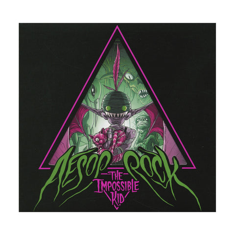 "[""Aesop Rock - 'The Impossible Kid' [CD]""]"