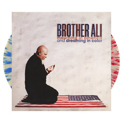 <!--2012100257-->Brother Ali - 'Mourning In America And Dreaming In Color' [(Red, White & Blue Splatter) Vinyl [2LP]]