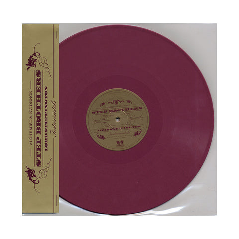 "[""Step Brothers - 'Lord Steppington (Instrumentals)' [(Maroon) Vinyl [2LP]]""]"
