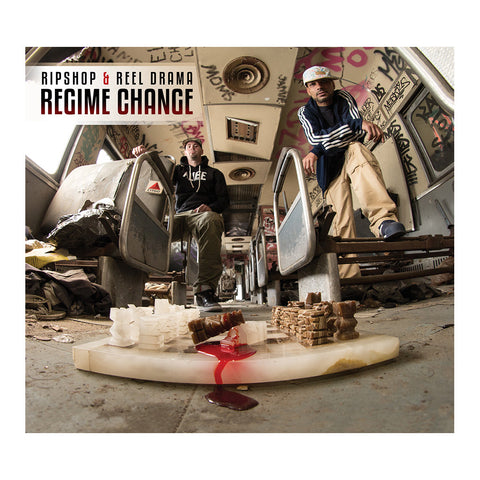"[""Ripshop & Reel Drama - 'Regime Change' [CD]""]"