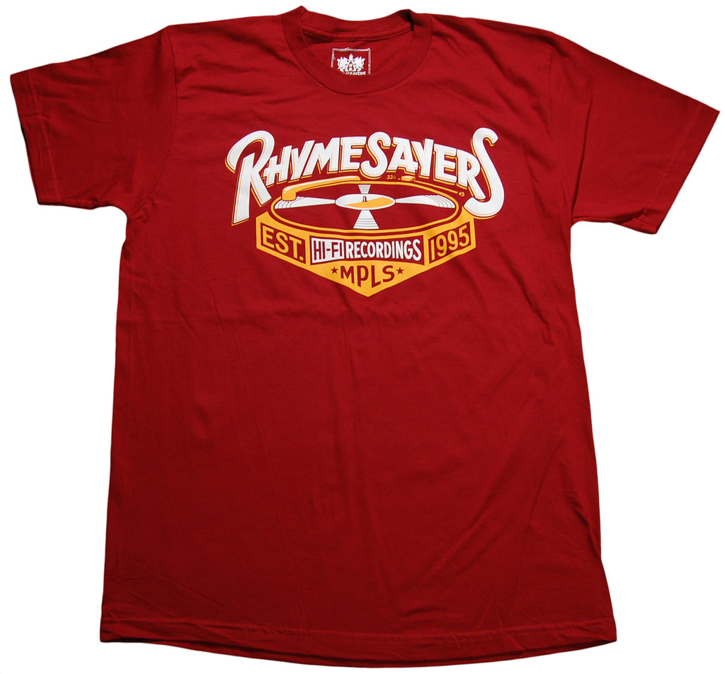 Rhymesayers Entertainment - 'Turntable' [(Dark Red) T-Shirt]