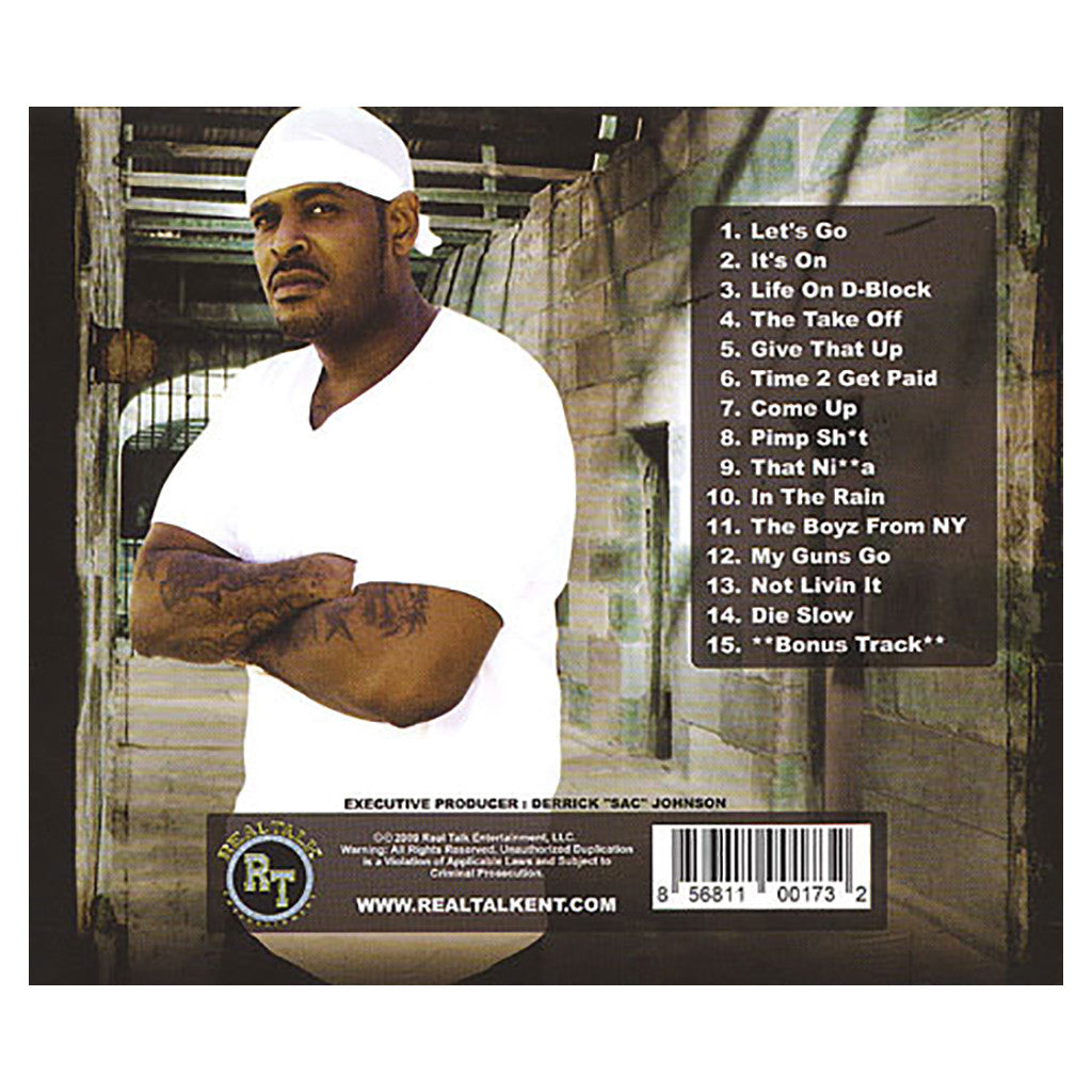 Sheek Louch - 'Life On D-Block' [CD]