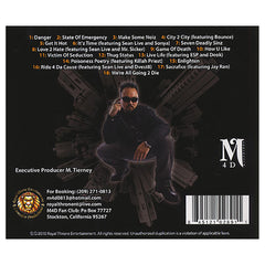 M4D (Mark For Death) - 'Mark My Wordz' [CD]