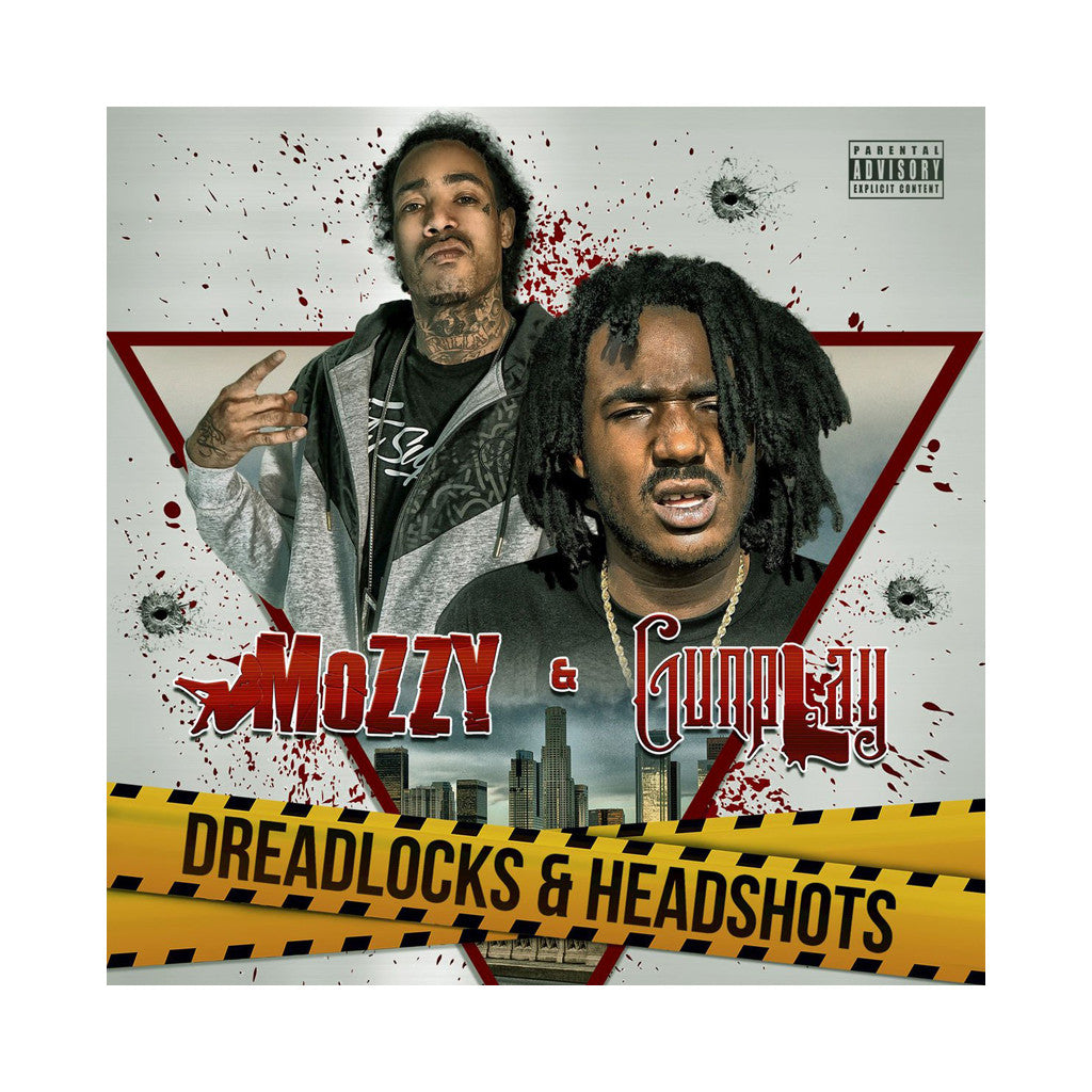 Mozzy & Gunplay - 'Dreadlocks & Headshots' [CD]
