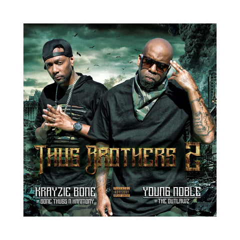 Krayzie Bone & Young Noble - 'Thug Brothers 2' [CD]