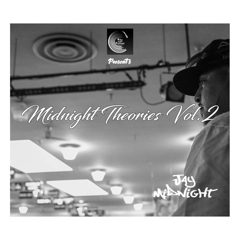 "[""Jay Midnight - 'Midnight Theories Vol. 2' [CD]""]"
