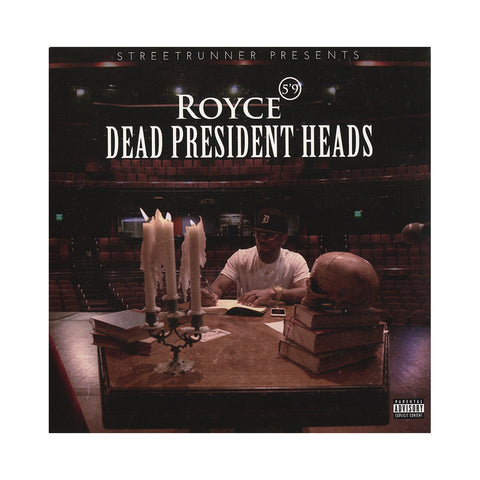 "Royce Da 5'9"" - 'Dead President Heads' [(Black) 7"" Vinyl Single]"