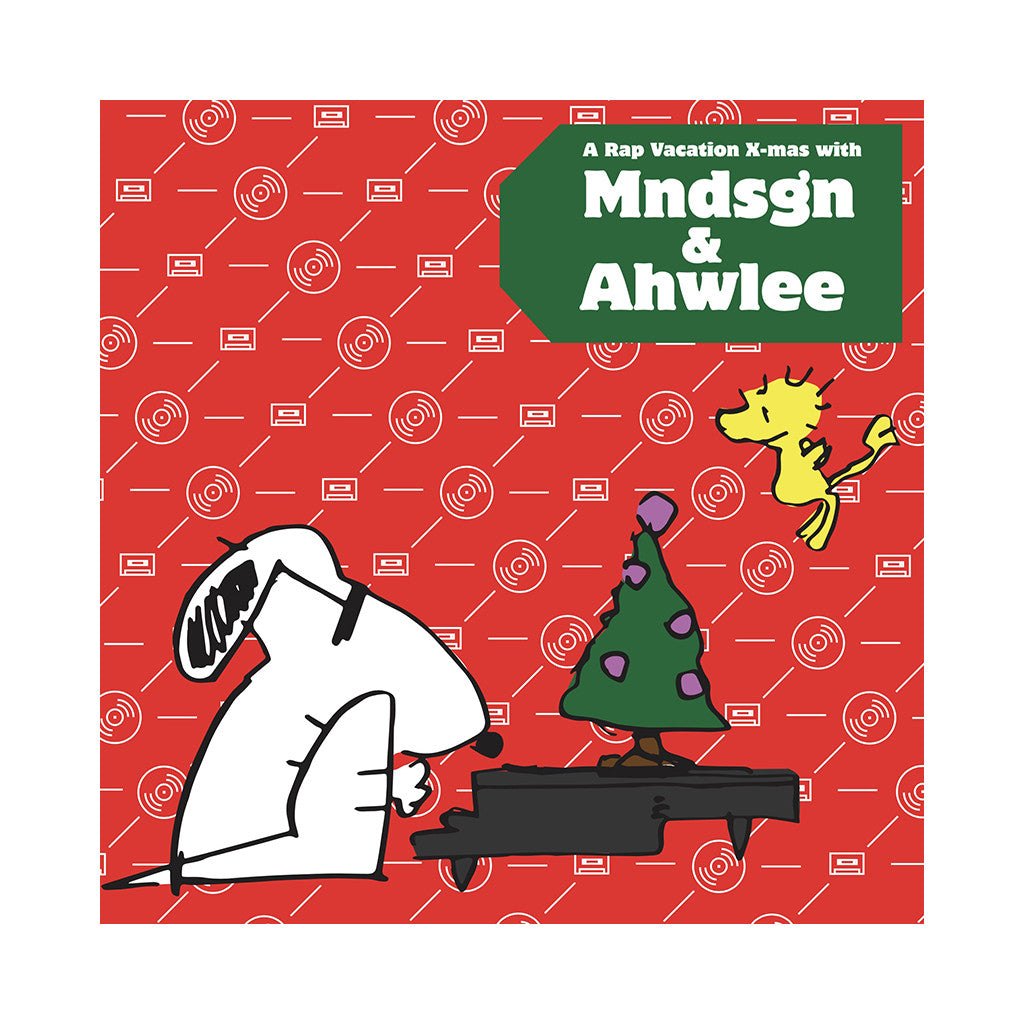 Mndsgn & Ahwlee - 'A Rap Vacation X-Mas' [(Red & Green) Vinyl LP]
