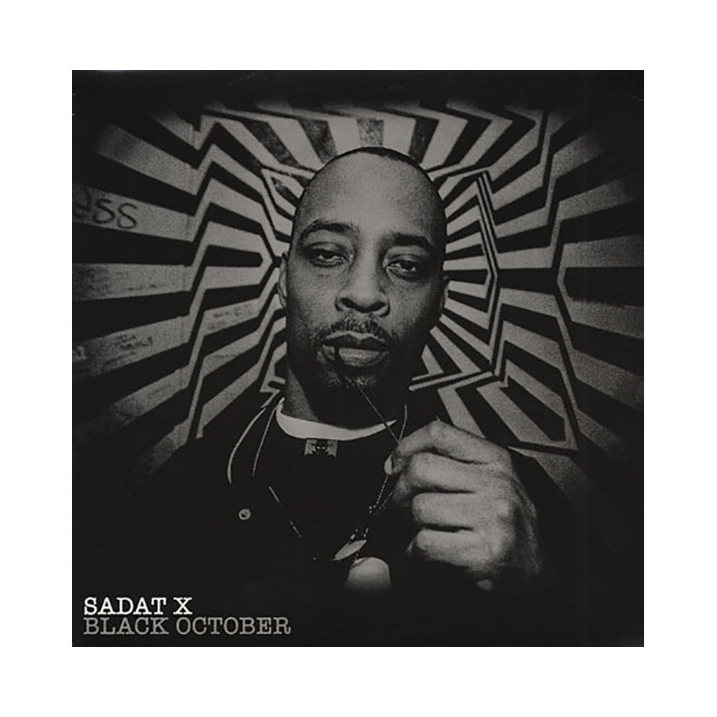 <!--020061003007998-->Sadat X - 'Black October' [CD]